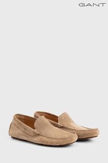 GANT Brown Austin Moccasin Shoe