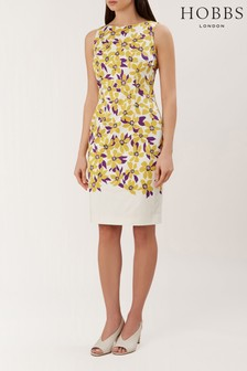 Hobbs White Fiona Dress