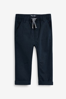 Pull-On Linen Blend Trousers (3mths-7yrs)