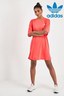 adidas Originals Pink Trefoil Dress