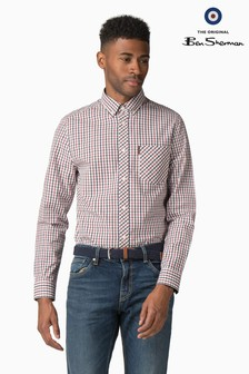 Ben Sherman Blue House Check Shirt