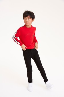 Sporty Crew Neck Jumper (3-16yrs)