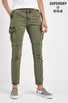 Superdry Khaki Cargo Trouser