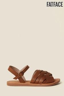 FatFace Brown Exton Sandal