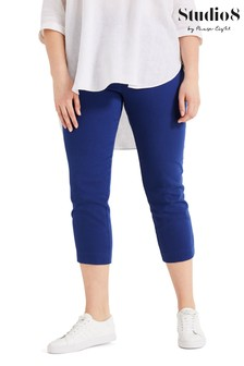 Studio 8 Blue Courtney Crop Trousers