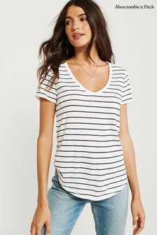 Abercrombie & Fitch Multicoloured Basic T-Shirt