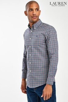 Ralph Lauren Blue Classic Check Shirt
