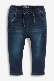 Super Soft Pull-On Denim Jeans With Stretch (3mths-7yrs)