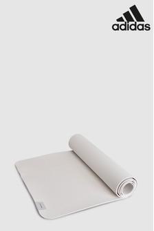adidas White Yoga Mat
