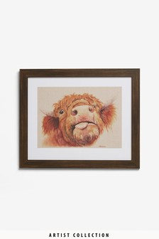 Artist Collection Baxter by Jane Bannon Framed Print