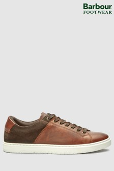 Barbour® Dark Brown Ariel Trainer