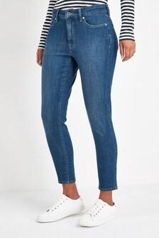 Lauren Ralph Lauren® Indigo Ankle Graze Skinny Jean