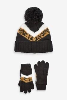 2 Piece Hat & Gloves Set (Older)