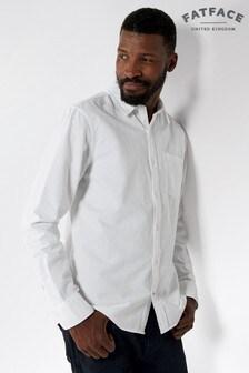 FatFace White Classic Oxford Shirt