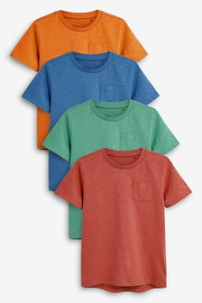 T Shirts Four Pack 3 16yrs