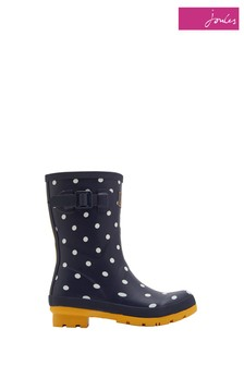 Joules Navy Spot Molly Welly