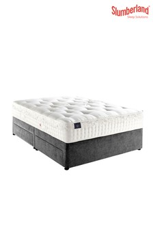 Silver Seal Four Drawer Divan Bed by Slumberland