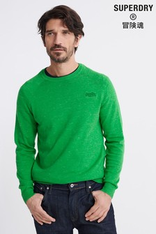 Superdry Orange Label Cotton Jumper