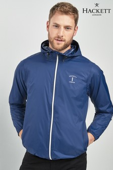 Hackett Blue Packable Jacket