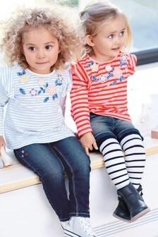 Embellished Stripe T-Shirt (3mths-7yrs)
