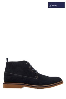 Joules Navy Dene Suede Ankle Boot