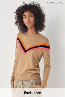 Mix/Madeleine Thompson Chevron Jumper