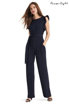 Phase Eight Blue Victoriana Jumpsuit