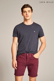 Jack Wills Purple Damson Five Pocket Short