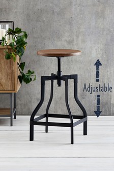 Amsterdam Adjustable Bar Stool