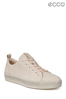 Ecco Nude Lace Up Sneaker