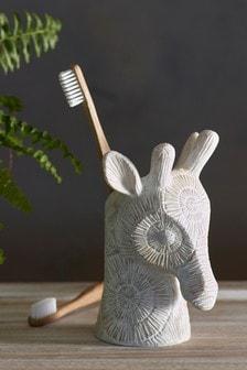 Giraffe Toothbrush Tumbler