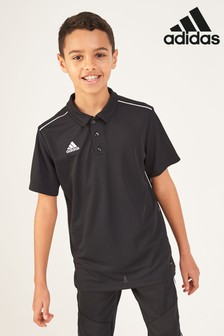 adidas Football Core Black Polo