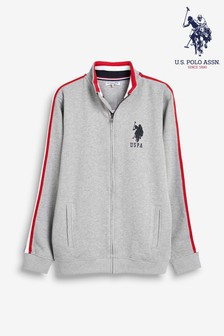 U.S. Polo Assn. Tape Funnel Neck Jacket