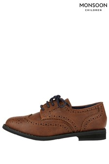 Monsoon Brown Boy Brogue