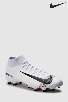 Nike White Power Up Superfly 6 Academy Multi Ground
