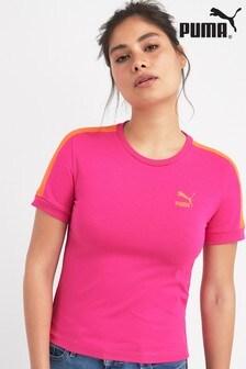 Puma® Pink T7 Tee