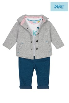 baker by Ted Baker Baby Multicoloured Three Piece Set
