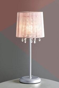 Small Pink Palazzo Table Lamp