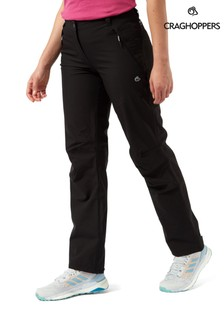Craghoppers Black Airedale Trousers
