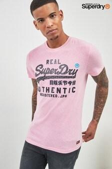 Superdry Pink Script Tee
