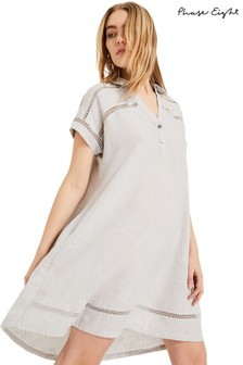 Phase Eight Grey Arla Swing Dress