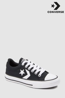 Converse Grey Youth Star Player Trainer