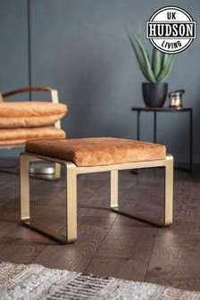Fabien Footstool By Hudson Living