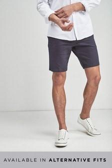 Geometric Printed Chino Shorts