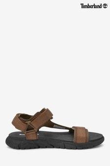 Timberland® Brown Windham Trail Sandal