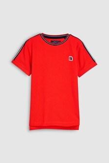 Short Sleeve Taped T-Shirt (3-16yrs)