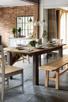Huxley Mole 6 to 8 Extending Dining Table