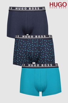 HUGO BOSS Pattern Boxers Three Pack