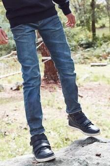 Dżinsy rurki z wywijaną nogawką (3-16 lat)
