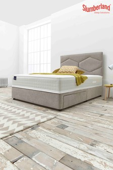 Slumberland Copper Seal Two Drawer Divan Bed